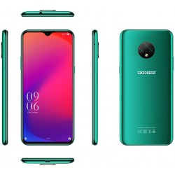 "Смартфон DOOGEE X95 Emerald Green 2sim/6.52""/1200*540/4*1.3ГГц/2Gb/16Gb/mSD/13+2+2Мп/And10/4350мАч"