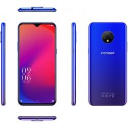 "Смартфон DOOGEE X95 Jewelry Blue 2sim/6.52""/1200*540/4*1.3ГГц/2Gb/16Gb/mSD/13+2+2Мп/And10/4350мАч"