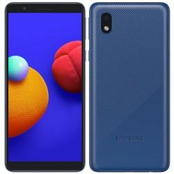 "Смартфон Samsung Galaxy A01 Core SM-A013F Синий 2sim/5.3""/1480*720/4х1.5ГГц/1Gb/16Gb/mSD/8МП/And10/3000mAh"