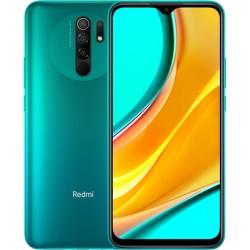 "Смартфон Xiaomi Redmi 9 4/64G Ocean Green 2sim/6.53""/2340*1080/4*2+4*1.8ГГц/4Gb/64Gb/mSD/13+8+5+2Мп/NFC/And10/5020mAh"