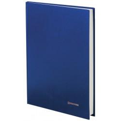 Книга учета BRAUBERG 144л. линия, обложка бумвинил, 130227