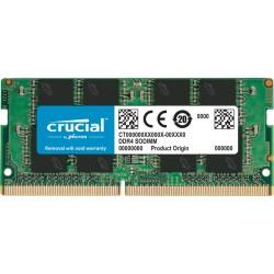 Модуль памяти SO-DDR4 8Гб 2666МГц Crucial (CT8G4SFRA266) CL19 1.2v