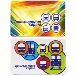 """Обложка-карман для карт и пропусков ДПС """"Транспорт"""", 64*96мм, ПВХ, ассорти, 2802"""