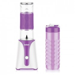 Блендер стационарный BBK KBS0352 White/violet 350Вт, мерный стакан, бутылка 0,6л