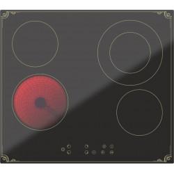 Варочная поверхность Darina 4P8 E326 B Black, 7.6кВт, 59х52х5см, 4 конфорки, Hi Light