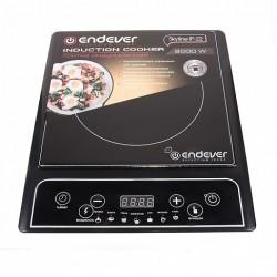 Плита настольная Endever IP-22 Black 2000Вт, конфорок-1, упр. сенсор.