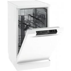 Посудомоечная машина Gorenje GS53110W White 1760Вт, отдельно стоящая, расход воды 9л, 5 прог., 45x60x85
