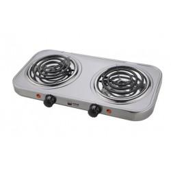 Плита настольная Home Element HE-HP702 Silver 2000Вт, конфорок-2, упр. механическое