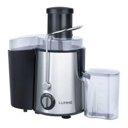 Соковыжималка Lumme LU-2015 Black/silver центробежная, 1200Вт, стакан 0.6л