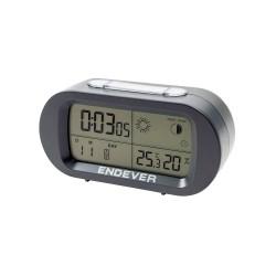 Часы будильник Endever RealTime 31 Grey 24ч. формат, таймер, будильник, температура, влажность