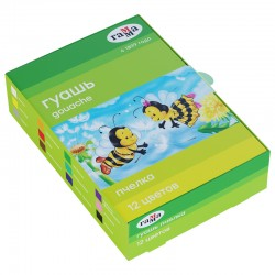"Гуашь 12цв. ГАММА ""Пчелка"" (221014 12)"