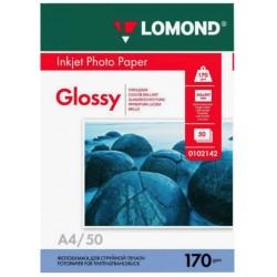 Бумага Lomond 170 г/м2, А4, глянцевая, 50л. (0102142)