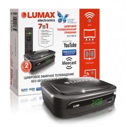 Цифровая приставка DVB-T2 Lumax DV2108HD HDMI 1080p/RCA/TimeShift/ТВгид/запись