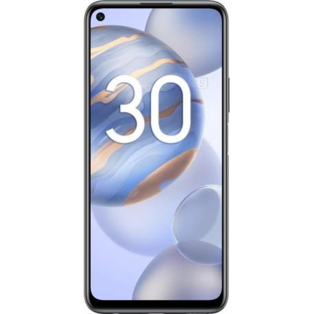 "Смартфон Huawei Honor 30S Полночный Черный 2sim/6.5""/2400*1080/1*2.36+3*2.22+4*1.84ГГц/6Gb/128Gb/mSD/64+8+2+2МП/NFC/And10/4000mAh"
