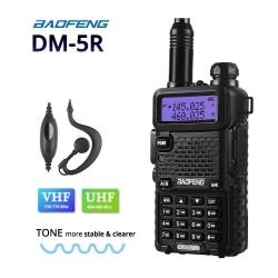 Радиостанция Baofeng DM-5R 5W VHF(136-174MHz) UHF(400-520MHz) Li-ion 1500mAh