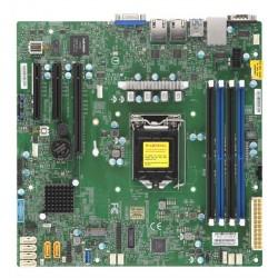 "Supermicro Motherboard 1xCPU X11SCL-F E-22**/ UpTo4UDIMM/ 6x SATA3/ C242 RAID 0/1/5/10/ 2xGE/ 1xPCIx8, 2xPCIx4,M.2 NGFF connector(9.6"" x 9.6"")"