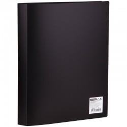 Папка с 40 вкл. Спейс 21мм. 600мкм. черная (F40L1 291)