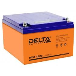 Аккумулятор Delta DTM 1226 (12V, 26Ah)