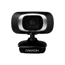 Веб-камера CANYON CNE-CWC3N 1МП/1280*7200 микрофон,крепл на монитор