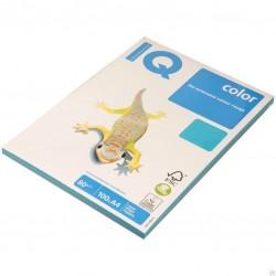 Бумага цветная А4 100л. IQ COLOR Паст. BL29 светло-голуб