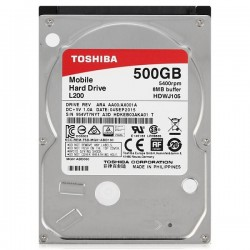 "Жесткий диск 2,5"" SATA 500Gb Toshiba HDWJ105UZSVA 5400,8Mb"