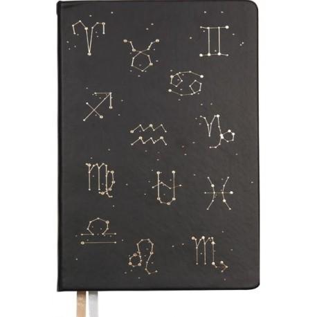 """Ежедневник deVENTE  A5  недат., """"Horoscope"""" черный (2034029)"""