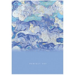 "Ежедневник БиДжи А5, 272 стр. недатир. ""Perfect sky"" (ЕН5т136 лм вл 8716)"