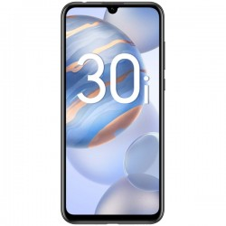 "Смартфон Honor 30i 4/128Gb Полночный черный 2sim/6.3""/2400*1080/4*1.7+4*2.2ГГц/4Gb/128Gb/mSD/48+8+2МП/NFC/4000mAh"