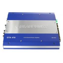 Усилитель авто-й BLAUPUNKT GTA-470 4х70 Вт/2х200 Вт RMS (4Ом),  4х100 Вт RMS (2Ом)