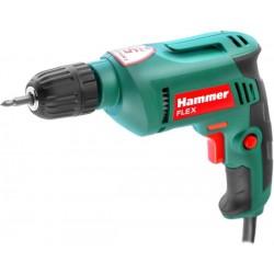 Дрель-шуруповерт Hammer DRL500C питание 220В, 500Вт, 0-3200 об/мин, патрон 0.8-10 мм, реверс