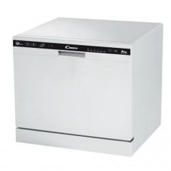 Посудомоечная машина Candy CDCP 8/E-07 (32000980) White, отдельно стоящая, расход воды 8л, 6 прог.,55?59?50 см