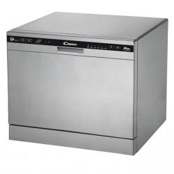 Посудомоечная машина Candy CDCP 8/ES-07 (32000981) Silver, отдельно стоящая, расход воды 8л, 6 прог., 55?59?50 см