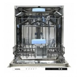 Встраиваемая посудомоечная машина Vestel VDWBI 6021 White расход воды 13л, 5 прог., 56.6x55x81.5 см