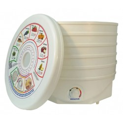 Сушилка для овощей RENOVA DVN37-500/5 White 516Вт,5 поддонов, объем 20 л