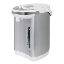 Термопот Mystery MTP-2451 White/silver 700Вт, 5л, металл/пластик