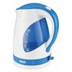 Чайник BBK EK1700P White/blue (2200Вт,1.7л,пластик,закрытая спираль,LED подсветка)
