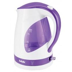Чайник BBK EK1700P White/violet (2200Вт,1.7л,пластик,закрытая спираль,LED подсветка)