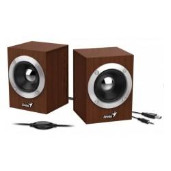 Актив.колонки 2.0 Genius SP-HF280 (31730028400) 2Вт, питание от USB, MDF, Wood