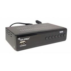 Цифровая приставка DVB-T2 Selenga HD980D/HDMI 1080p/RCA/запись/черный/дисплей