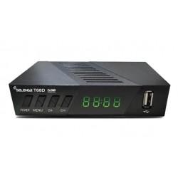 Цифровая приставка DVB-T2 Selenga T68D HDMI 1080p/RCA/TimeShift/ТВгид/запись/дисплей