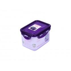 Контейнер Oursson CP0603S/SP (Сладкая слива) 0.63л,пластик,крышка с защелками,силикон.уплотнитель