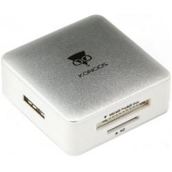 Картридер внешний Konoos UK-32 USB3.0 белый
