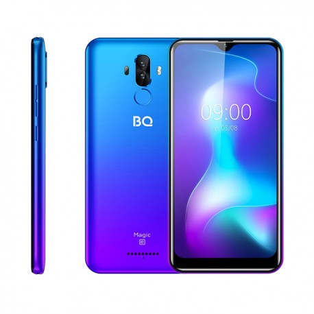 """Смартфон BQ BQ-6442L Magic E Ultra violet 2sim/6.09""""/1280*600/8*1.6ГГц/2Gb/32Gb/mSD/13+0.3Мп/NFC/And9/2950mAh"""