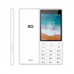 """Сотовый телефон BQ BQ-2815 Only Белый (2sim/2.8""""/320*240/32Mb/microSD/Bt/1000мАч)"""