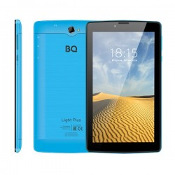 "Планшет BQ-7038G Light Plus Blue 3G/7""/1024*600/microSD/1Gb/8Gb/4*1.3ГГц/And9/2400mAh"