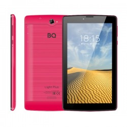"Планшет BQ-7038G Light Plus Red 3G/7""/1024*600/microSD/1Gb/8Gb/4*1.3ГГц/And9/2400mAh"
