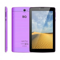 "Планшет BQ-7038G Light Plus Violet 3G/7""/1024*600/microSD/1Gb/8Gb/4*1.3ГГц/And9/2400mAh"