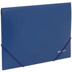 "Папка на резинках BRAUBERG ""Стандарт"" синяя (221623)"
