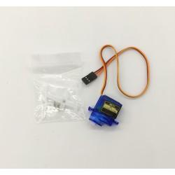 Сервопривод SG90 Micro Servo 9g, 4.8..6в, аналоговый, 180°, 23*12*29мм
