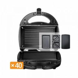 Мультипекарь Redmond RMB-616/3 Black 700Вт, 3 вида панелей в комплекте